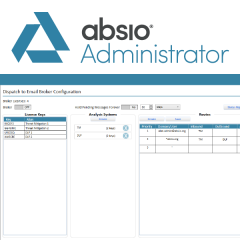 Absio Administrator - Encrypted Email Administration for Absio Dispatch catalogue image