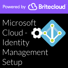 Britecloud Microsoft Cloud Identity Management Setup catalogue image