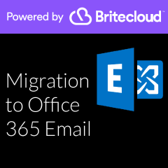 Britecloud Migration to Office 365 Email catalogue image