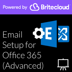 Britecloud Email Setup for Office 365 Advanced catalogue image