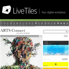 LiveTile Mosaic - Digital Office 365 Educational Workplaces screenshot