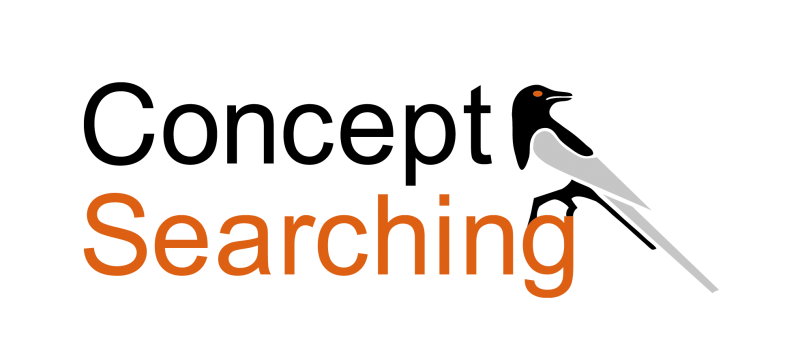 Concept Searching logo - data security and governance auto-classification software