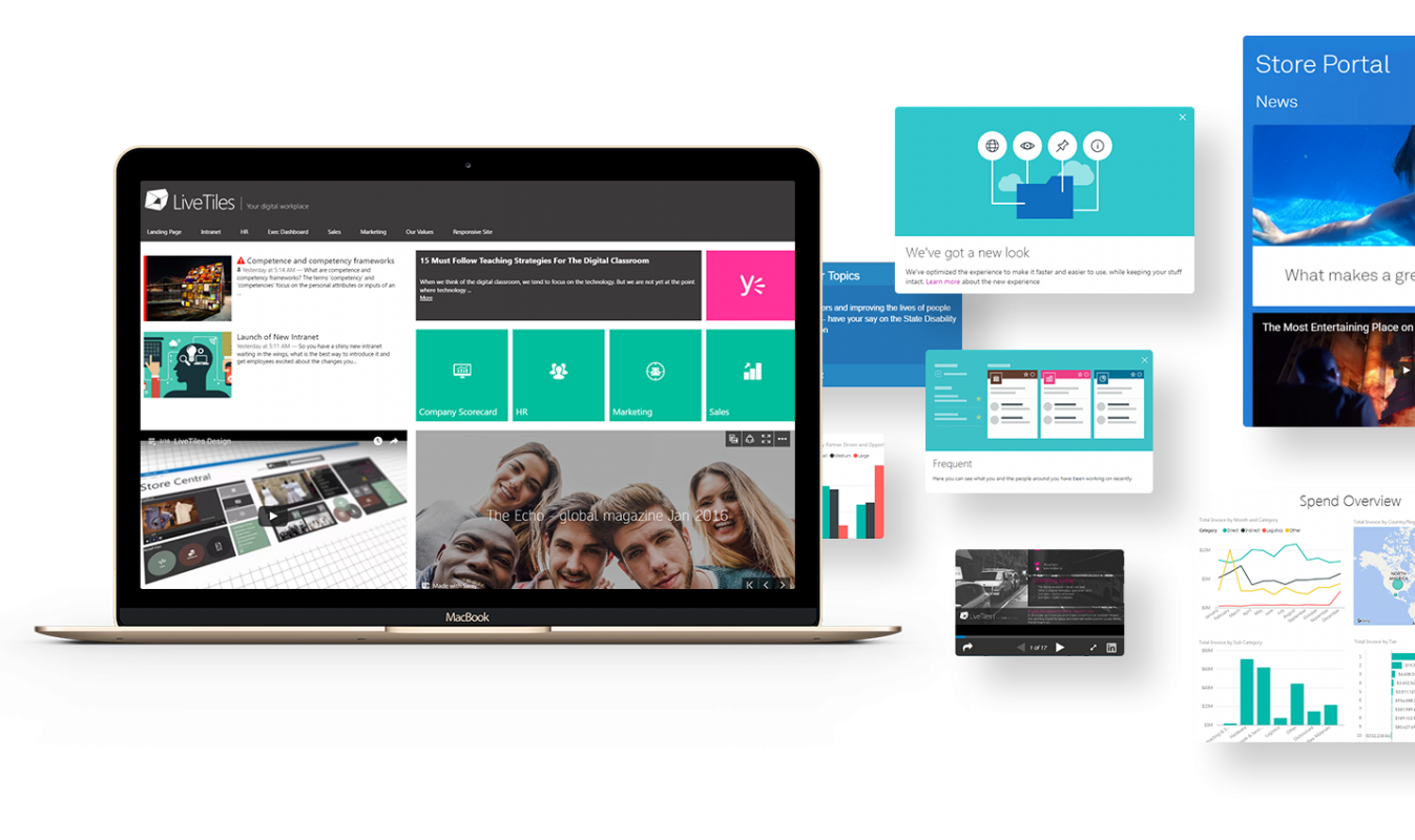 LiveTiles - Your Digital Workplace for SharePoint