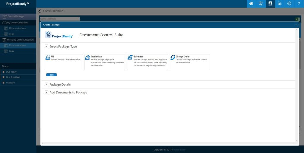 ProjectReady™ Central - Project Document Control Software